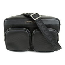 Load image into Gallery viewer, Michael Kors Large Hanover 35S0SU8C3L EW Crossbody Bag In Black