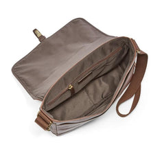 Load image into Gallery viewer, FOSSIL MEN CROSSBODY EVAN COMMUTER (BROWN)