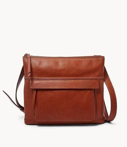 Fossil Aida Crossbody Bag SHB2011210 In Medium Brown