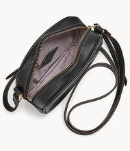 Load image into Gallery viewer, Fossil Maisie Small Camera Bag In Black