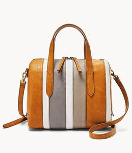 Fossil Sydney Satchel In Neutral Multi
