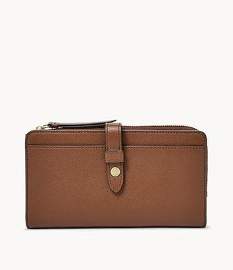 Fossil Fiona Tab Clutch SL7704200 In Brown