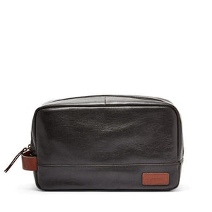 FOSSIL MEN EVAN TRAVEL KIT (BLACK)