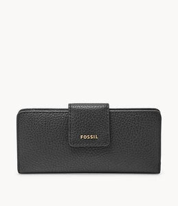 Fossil Slim Madison SWL1574001 Clutch Wallet In Black