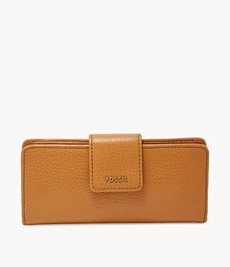 Fossil Madison Slim Clutch SWL1574216 In Saddle