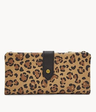 Fossil Lainie SWL2329989 Clutch In Cheetah