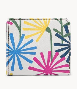 Fossil Madison Bifold Wallet SWL2375370 In Spring Bouquet