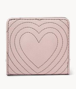 Fossil Madison Bifold Wallet SWL2378656 In Dusty Rose