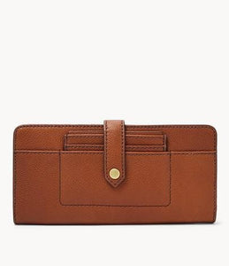 Fossil Myra Multifunction SWL2449210 Tab Clutch In Medium Brown