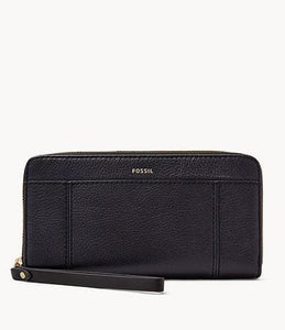 Fossil Jori Zip SWL3008406 Clutch In Midnight