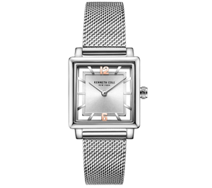 (PREORDER) Kenneth Cole Ladies Watch KC50788001 Silver Mesh Bracelet