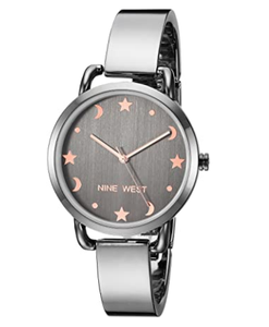 (PREORDER) Nine West Women's Bangle Watch NW-2165GYGY