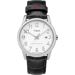 (PRE ORDER) TIMEX Easy Reader Signature Leather Strap Watch TW2R64900