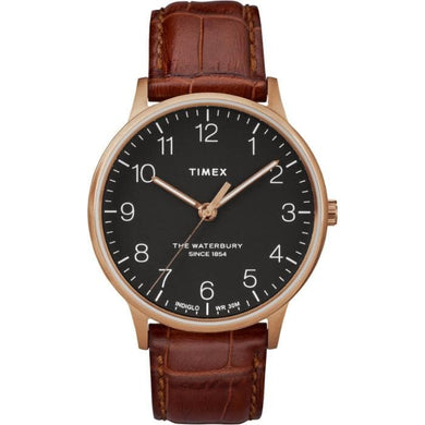 (PREORDER) TIMEX WATERBURY CLASSIC LEATHER STRAP WATCH TW2R71400