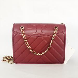 Tory Burch Alexa Convertible Shoulder Bag (Imperial Garnet)