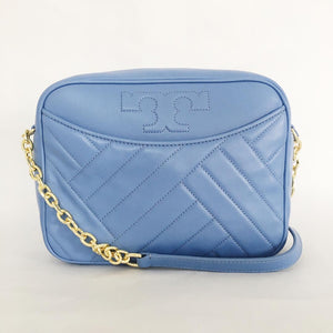 Tory Burch Alexa Stitch Camera bag (Lakspur)
