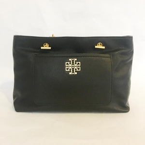 Tory Burch Britten Satchel (Black)