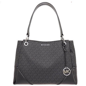 Michael Kors Nicole 35S0SNIE3B Large Shoulder Bag In Black