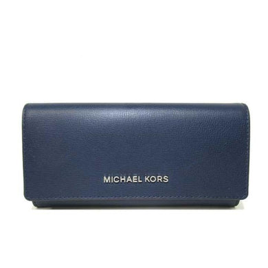 Michael Kors Large Carryall 35H9STVE7L Jet Set Travel Wallet In Navy