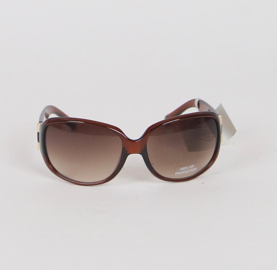 Fossil Brown FW15 Rectangular Sunglasses