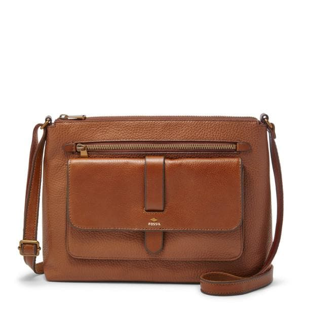 Fossil Kinley Crossbody Brown