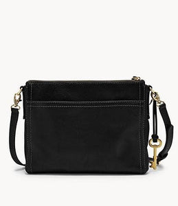 Fossil Emma Ew ZB6842001 Crossbody Bag In Black