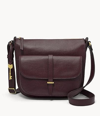 Fossil Ryder Crossbody Bag In Fig