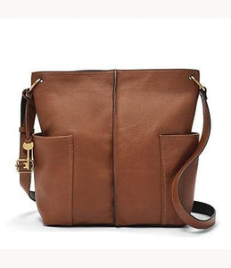 Fossil Lane Crossbody In Brown