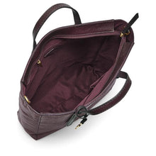 Load image into Gallery viewer, Fossil Camilla Backpack Fig