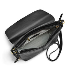 Load image into Gallery viewer, FOSSIL MAYA LARGE CROSSBODY (BLACK)