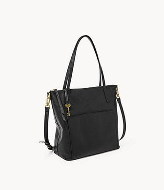 Fossil Evelyn Medium Tote In Black