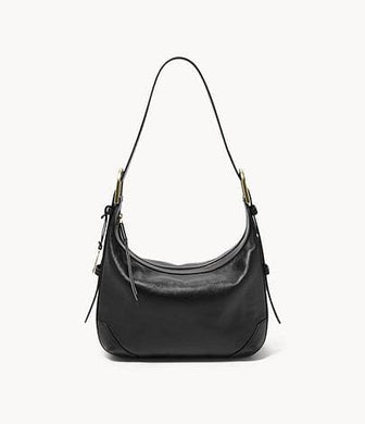 Fossil Hannah Hobo Shoulder In Black