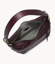 Load image into Gallery viewer, Fossil Hannah Hobo Shoulder In Fig