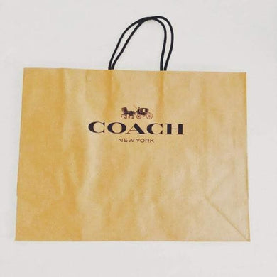 Coach Large Handbag Paper Bag