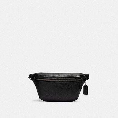 Coach Grade C1413 Belt Bag In Black