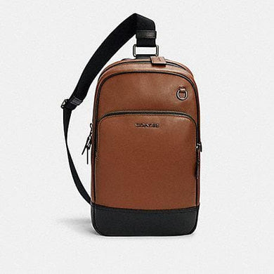 Coach Graham Pack 2931 Backpack In Saddle