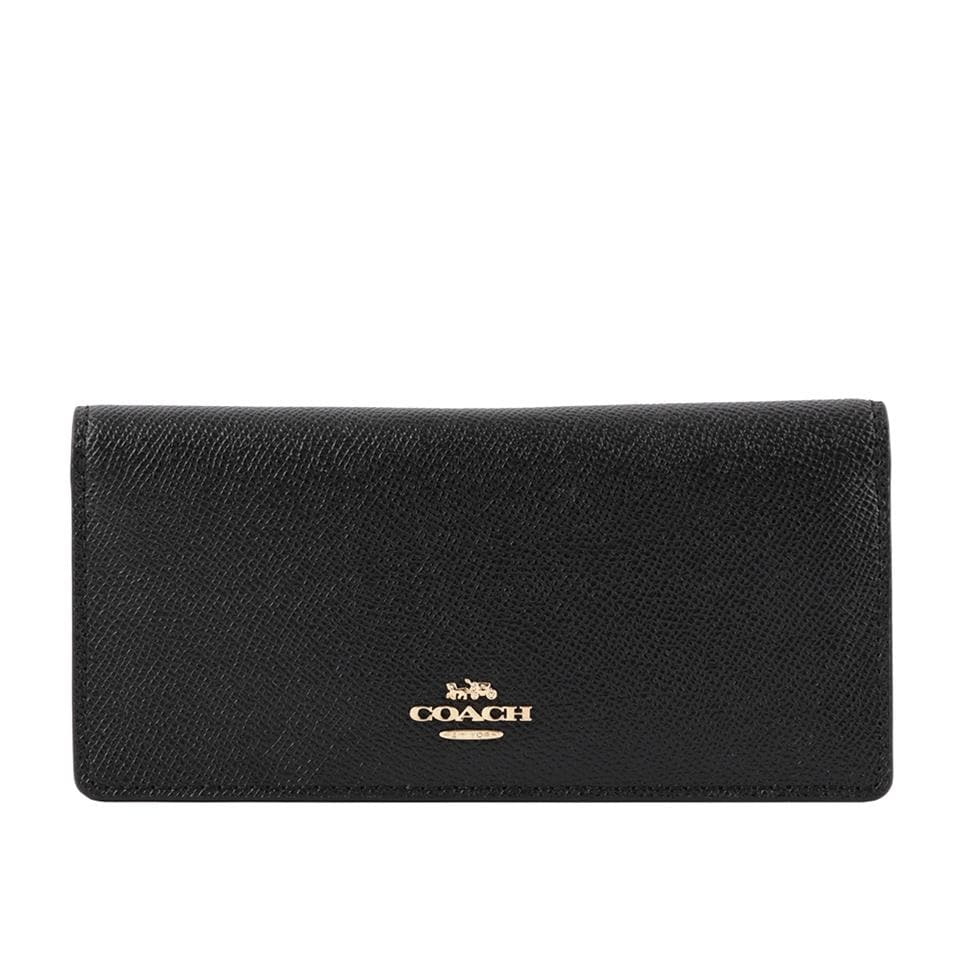 Coach Bifold Leather Wallet F88025 In Black
