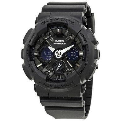 Casio G-Shock Black Dial Resin Ladies Watch GMA-S120MF-1ACR