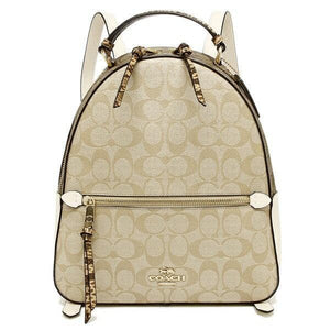 Coach Signature Jordyn 2725 Backpack In Light Khaki Chalk