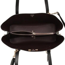 Load image into Gallery viewer, Coach Avenue Carryall Leather F48733 In Black/Oxblood