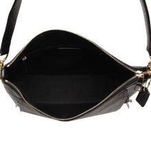 Load image into Gallery viewer, Coach Signature Marlon Hobo Shoulder Bag F79993 In Brown Black