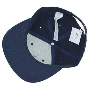 Coach Flat Brim Hat F33774 In Navy