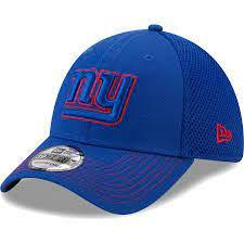 New Era New York Giants Team Neo Logo 39THIRTY Flex Hat In Royal