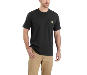 Carhartt Relaxed Fit Heavy Weight Short Sleeve T-Shirt In Bluestone