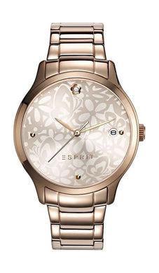 Esprit Women's Analogue ES108902003 Flower Dial Watch
