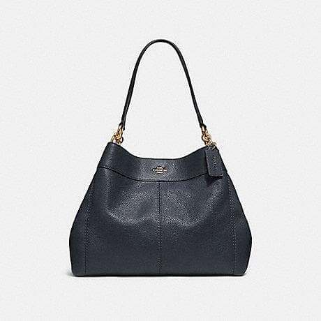 COACH HANDBAG LEXY SHOULDER BAG F28997 (MIDNIGHT/IMITATION GOLD)
