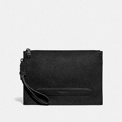 Coach Structured Pouch F68154 In Black