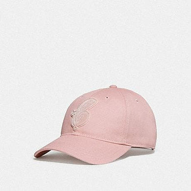 Coach Varsity C Patch Hat (F68401) in Carnation