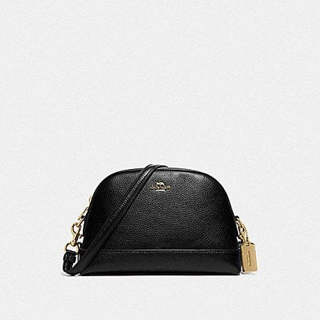 Coach Dome Crossbody F76673 (Imitation Gold/Black)