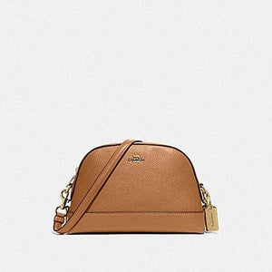 Coach Dome Crossbody F76673 (Imitation Gold/Light Saddle)